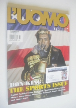 L'Uomo Vogue magazine - November 2010 - Don King cover