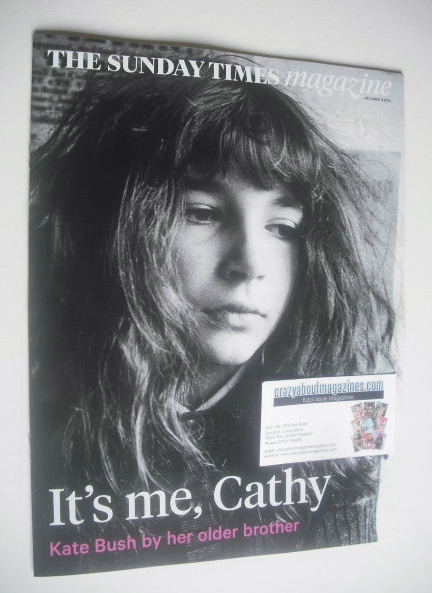 <!--2014-10-12-->The Sunday Times magazine - Kate Bush cover (12 October 20
