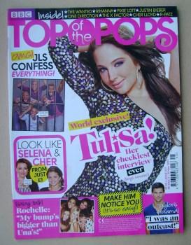 Top Of The Pops magazine - Tulisa Contostavlos cover (2 - 29 November 2011)