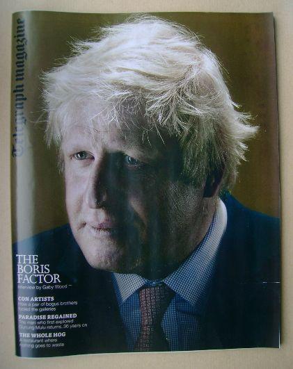 <!--2014-10-11-->Telegraph magazine - Boris Johnson cover (11 October 2014)