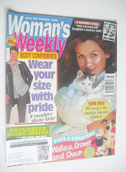 <!--1996-09-10-->Woman's Weekly magazine (10 September 1996)
