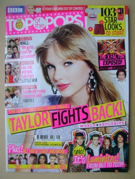 Top Of The Pops magazine - Taylor Swift cover (6 November - 3 December 2013)