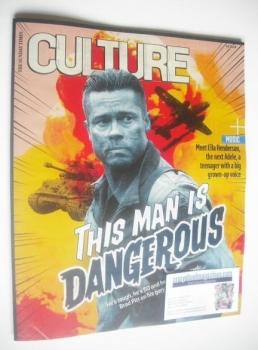 Culture magazine - Brad Pitt cover (12 October 2014)