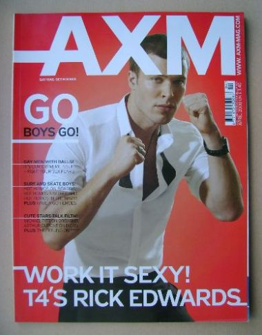 <!--2008-04-->AXM magazine - Rick Edwards cover (April 2008)