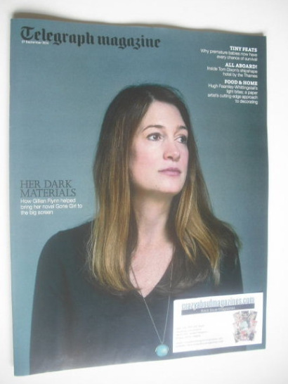<!--2014-09-27-->Telegraph magazine - Gillian Flynn cover (27 September 201