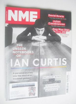 <!--2014-10-11-->NME magazine - Ian Curtis cover (11 October 2014)