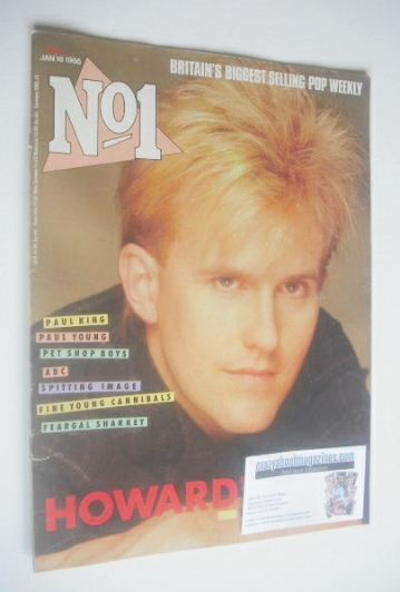 <!--1986-01-18-->No 1 Magazine - Howard Jones cover (18 January 1986)