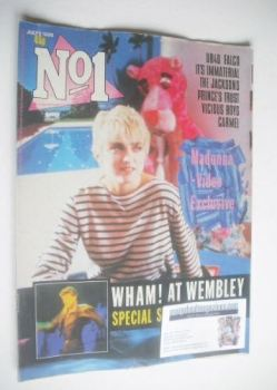 No 1 Magazine - Madonna cover (5 July 1986)