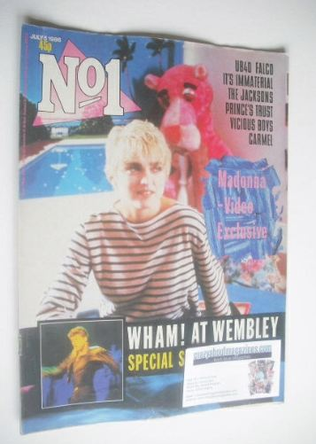 <!--1986-07-05-->No 1 Magazine - Madonna cover (5 July 1986)