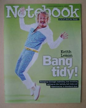 Notebook magazine - Keith Lemon cover (24 August 2014)