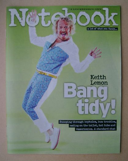 <!--2014-08-24-->Notebook magazine - Keith Lemon cover (24 August 2014)