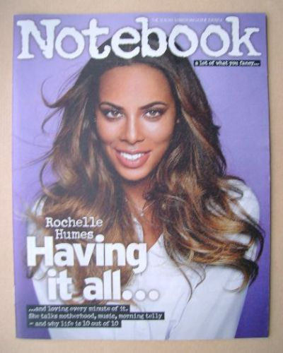<!--2014-08-10-->Notebook magazine - Rochelle Humes cover (10 August 2014)