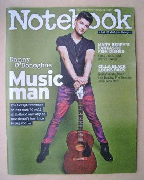 Notebook magazine - Danny O'Donoghue cover (14 September 2014)