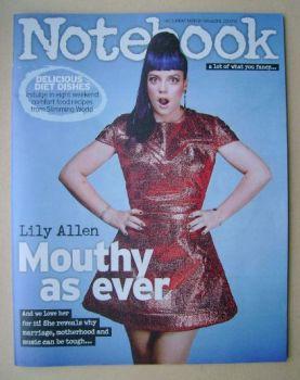 Notebook magazine - Lily Allen cover (21 September 2014)
