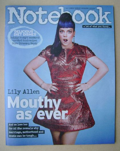 <!--2014-09-21-->Notebook magazine - Lily Allen cover (21 September 2014)