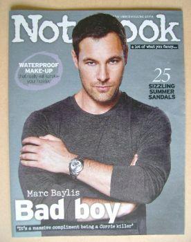 Notebook magazine - Marc Baylis cover (6 July 2014)