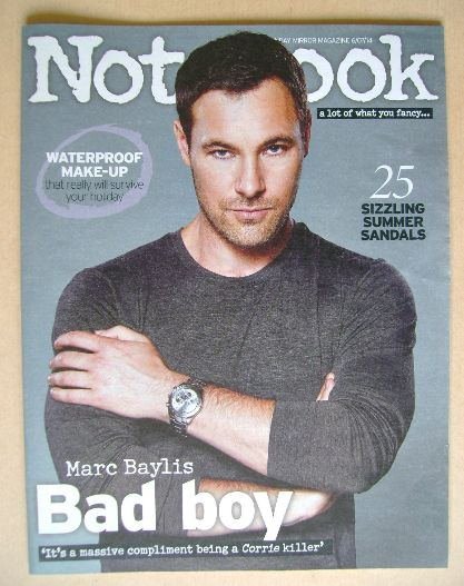 <!--2014-07-06-->Notebook magazine - Marc Baylis cover (6 July 2014)