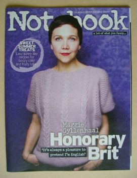 Notebook magazine - Maggie Gyllenhaal cover (13 July 2014)