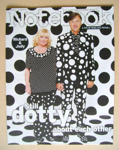 <!--2014-05-04-->Notebook magazine - Richard Madeley and Judy Finnigan cove