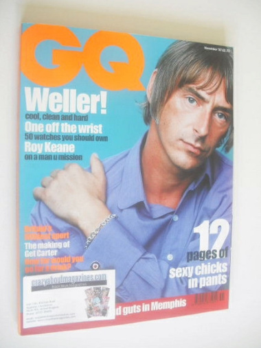 <!--1997-11-->British GQ magazine - November 1997 - Paul Weller cover