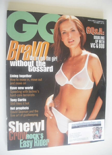 <!--1996-10-->British GQ magazine - October 1996 - Sophie Anderton cover
