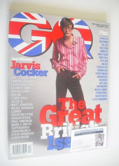 <!--1996-12-->British GQ magazine - December 1996 - Jarvis Cocker cover