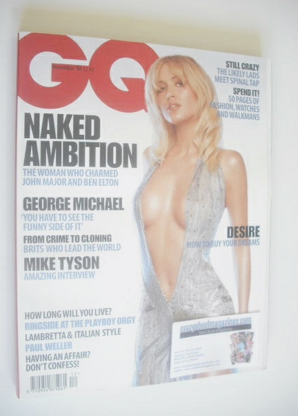 <!--1998-12-->British GQ magazine - December 1998 - Emma Noble cover