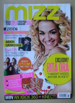 MIZZ magazine - Rita Ora cover (9 - 29 August 2012)