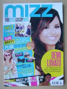 MIZZ magazine - Demi Lovato cover (28 June - 18 July 2012)