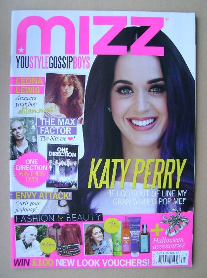 <!--2012-10-11-->MIZZ magazine - Katy Perry cover (11 - 31 October 2012)