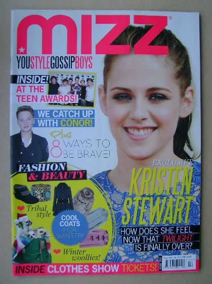 <!--2012-11-01-->MIZZ magazine - Kristen Stewart cover (1 - 21 November 201