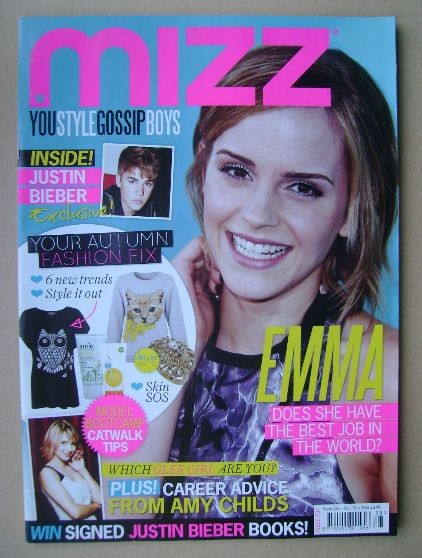 <!--2012-09-20-->MIZZ magazine - Emma Watson cover (20 September - 10 Octob
