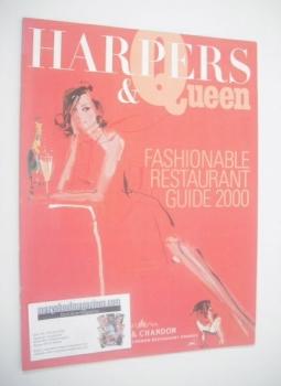 Harpers & Queen supplement - Fashionable Restaurant Guide 2000