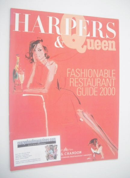 Harpers & Queen supplement - Fashionable Restaurant Guide 2000