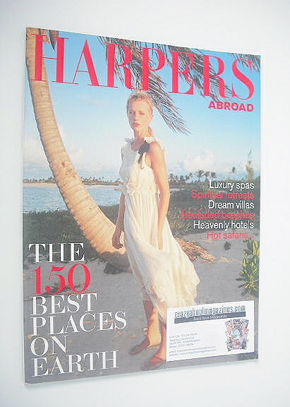 Harpers & Queen supplement - Abroad: Laura Bailey cover (January 2003)