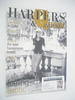 Harpers & Queen supplement - Abroad: Kate Moss cover (October 1998)