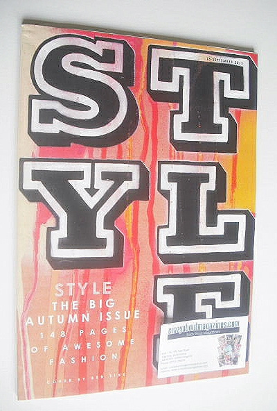 <!--2013-09-15-->Style magazine - Style cover (15 September 2013)