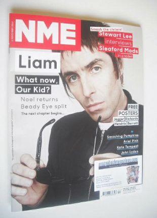 <!--2014-11-01-->NME magazine - Liam Gallagher cover (1 November 2014)