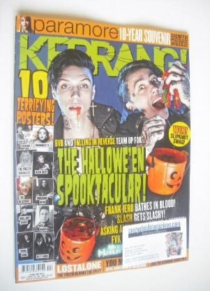 <!--2014-11-01-->Kerrang magazine - Ronnie Radke and Andy Biersack cover (1