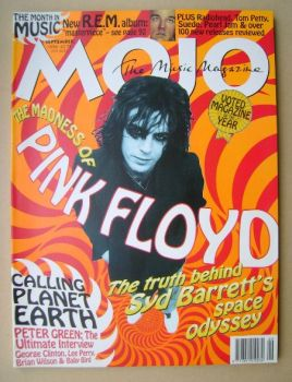 MOJO magazine - Syd Barrett cover (September 1996 - Issue 34)