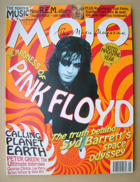 <!--1996-09-->MOJO magazine - Syd Barrett cover (September 1996 - Issue 34)