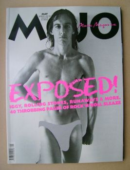MOJO magazine - Iggy Pop cover (May 2000 - Issue 78)