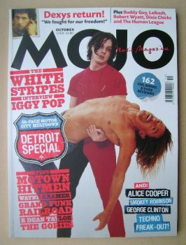 MOJO magazine - Jack White and Iggy Pop cover (October 2003 - Issue 119)