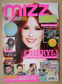 MIZZ magazine - Cheryl Cole cover (19 July - 8 August 2012)