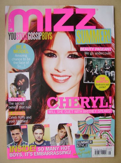 <!--2012-07-19-->MIZZ magazine - Cheryl Cole cover (19 July - 8 August 2012