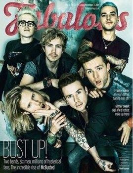 Fabulous magazine - McBusted cover (2 November 2014)