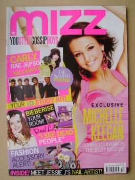 MIZZ magazine - Michelle Keegan cover (17 May - 6 June 2012)