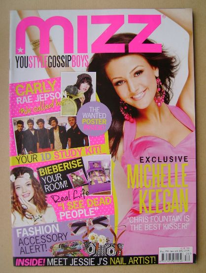 <!--2012-05-17-->MIZZ magazine - Michelle Keegan cover (17 May - 6 June 201