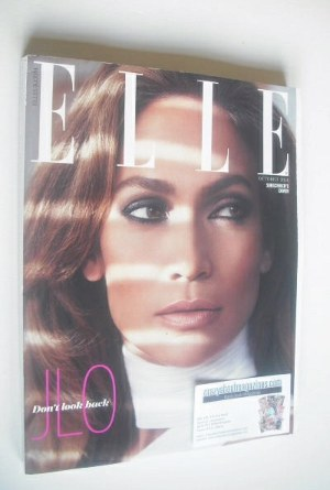 <!--2014-10-->British Elle magazine - October 2014 - Jennifer Lopez cover (