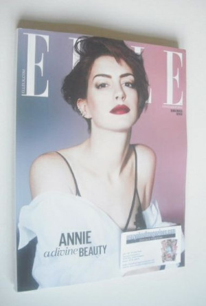 <!--2014-11-->British Elle magazine - November 2014 - Anne Hathaway cover (